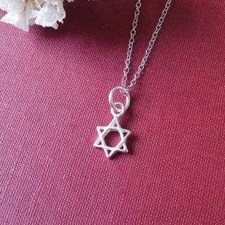 Hexagram・Necklace Sterling Silver