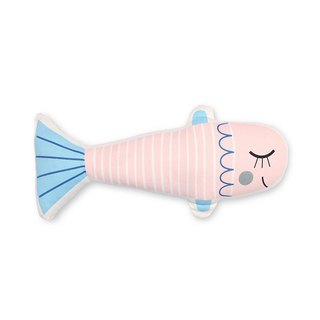 Petit Monkey, the Netherlands - healing pink fish pillow