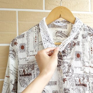 │Slowly│Myths - vintage shirt │vintage. Vintage. Art.