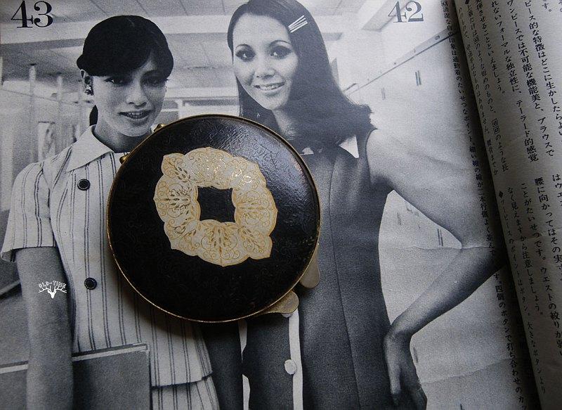 【老時光 OLD-TIME】老歐洲隨身粉餅鏡盒