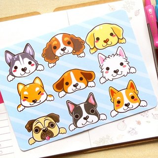 Cute Dogs Postcard