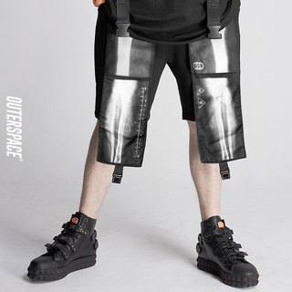 OUTER SPACE X Lightweight web shorts