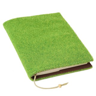 Shibaful Note Book A6 ( book cover with notebook ) ノートブック