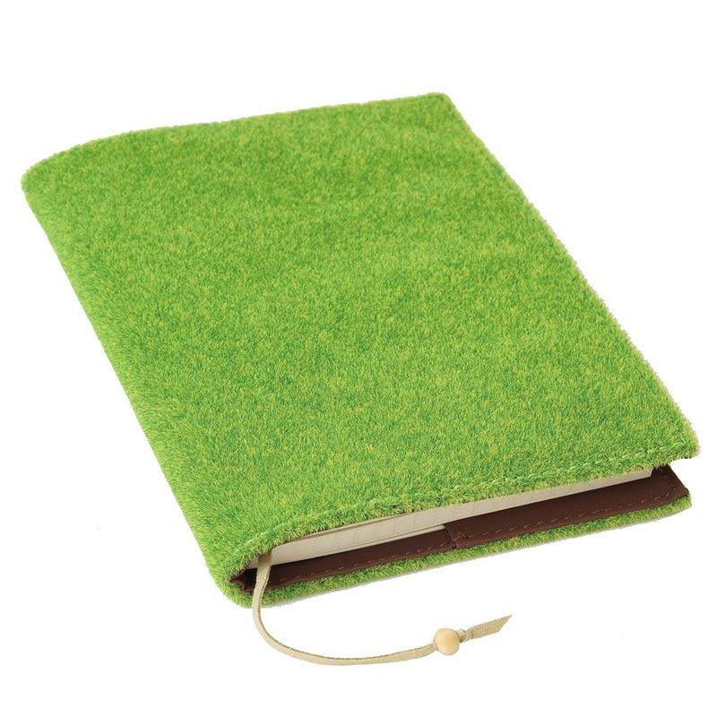 Shibaful Note Book A6 草坪封面筆記本 手帳 記事本