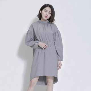 Drifting drifting styling dress _7AF112_ gray