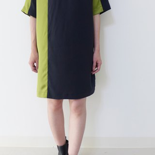 Matcha Black Forest Square Crisp --- Color Patch Tops Dresses in One