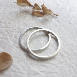 Sterling Silver - Two Line Rings