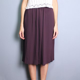 FOAK vintage grape purple hundred fold vintage dress