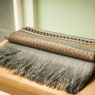 Vista [information], South America, Indian hand shawl gray