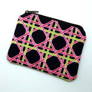 Zipper pouch / coin purse (padded) (ZS-197)