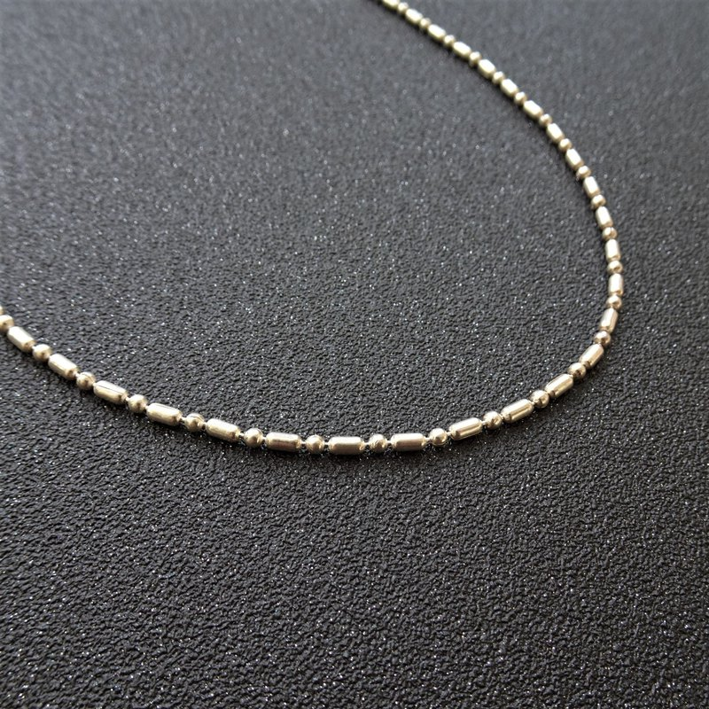 925S Chain | Ball and Bar Sterling Silver Necklace
