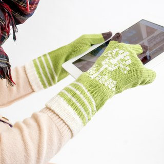 ohdake pattern gloves