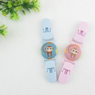 Monkey King Want to 2 colors optional. Handkerchief folder / million folder / toy clip / double head clip (monkey baby pineapple)