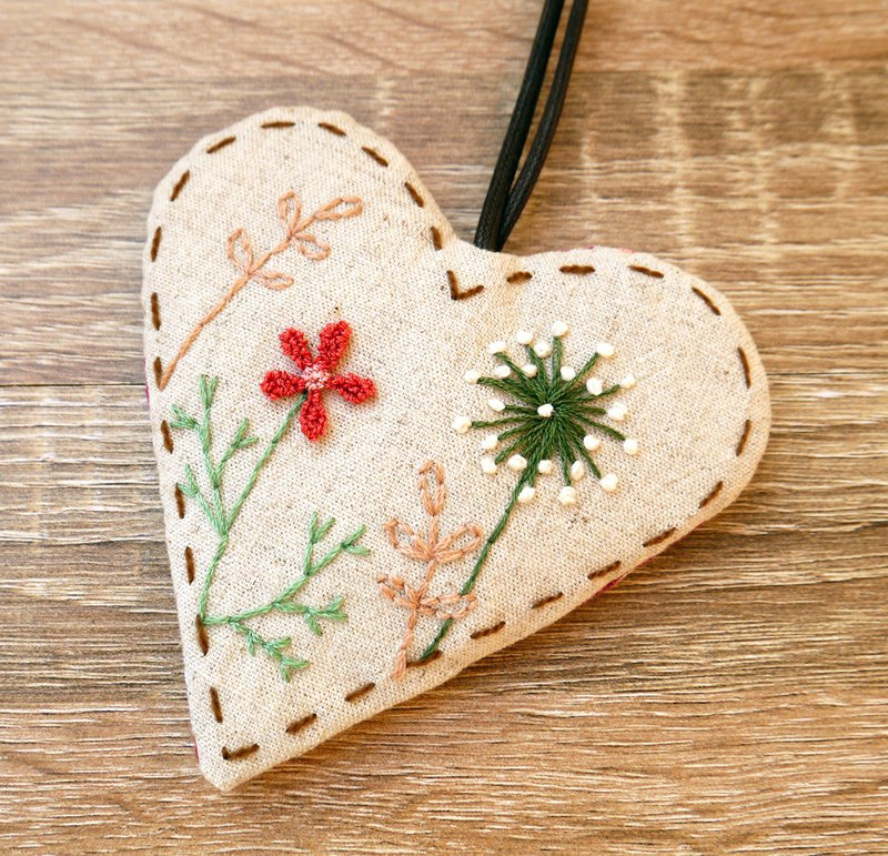 Wildflower Embroidery Love Key Pack