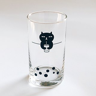 Badkitty Bubble-Tea Glass Tumbler 11.6oz