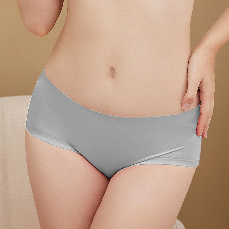 Olivia Underwire Large Size Modal Mid-High Waist Seamless Panties