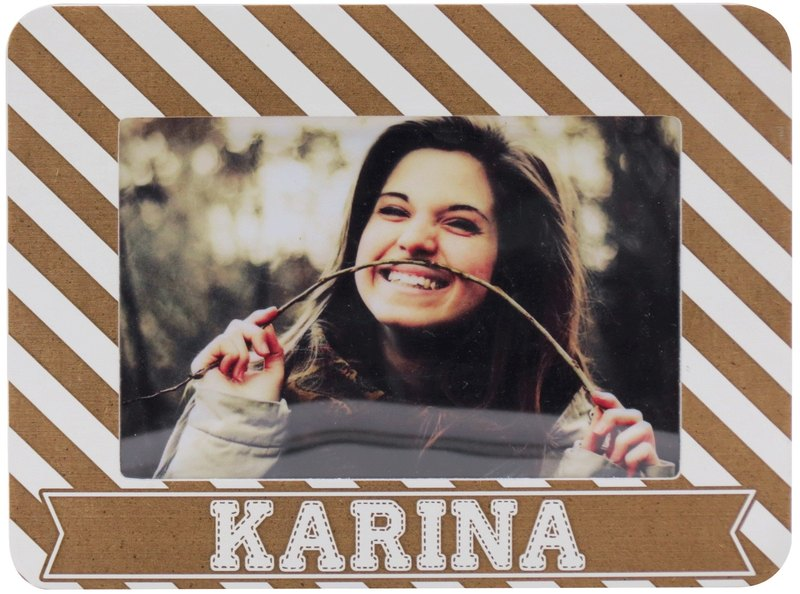 Customized Carved Wooden Photo Frame 4r Photo Your Name