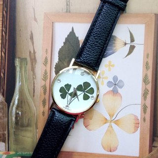 Handmade Watch with Real Flowers, Pressed Flower Watch