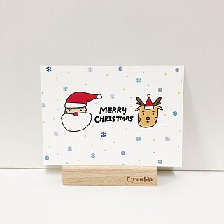 Christmas - Merry Christmas / Postcard