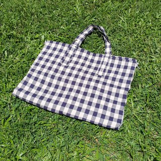 Breakfast time picnic mat tote bag