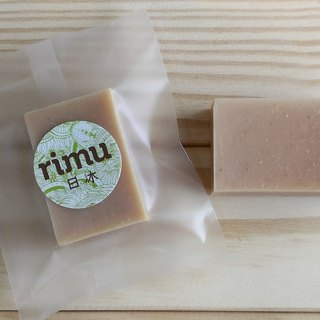 Travel small soap - clear muscle jade pearl milk / travel / experience / sketch