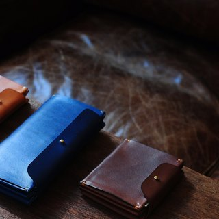 Artemis Leatherware Hand Stitched One Piece Long Wallet