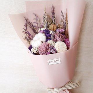 Gentle pink purple bouquet (Valentine's graduation bouquet)