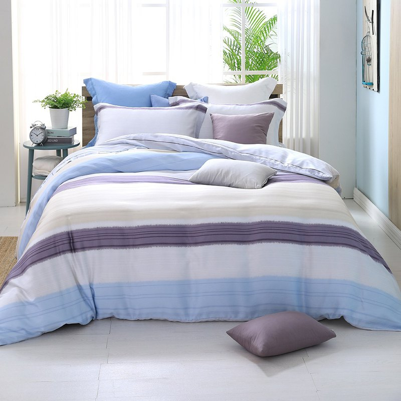 Touching youth - Tencel dual-use bed pack four-piece group [40 100% Lysell] exclusive design