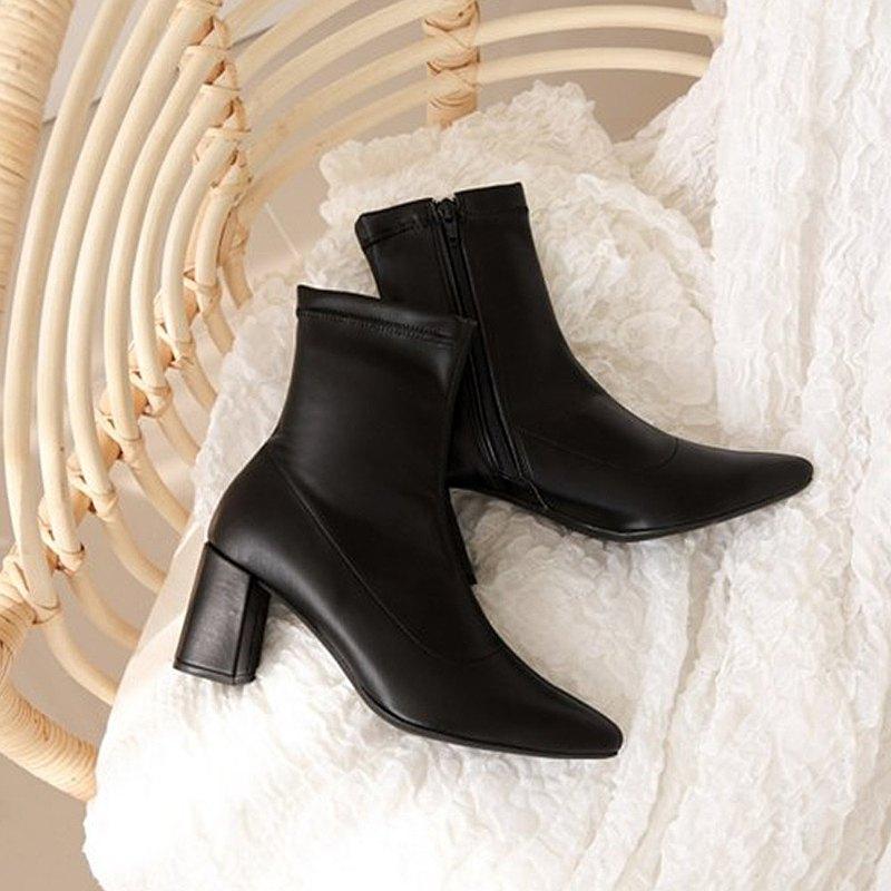 PRE-ORDER 韓國人手製 MACMOC Maxi (Black) 短靴