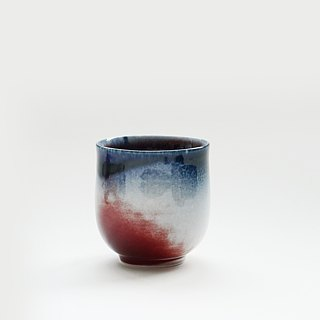 Flambe Glaze Cup-Sandy Yellow
