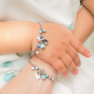 [Courage] sister chain. Parent-child chain | Commemorative engraving | Customization | Gifts