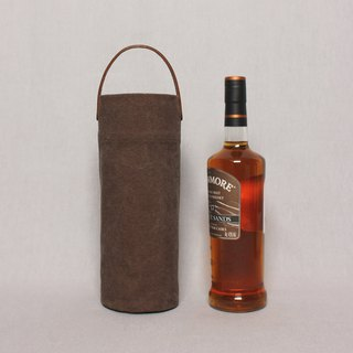 Kettle bag beverage bag mug bag wine bag - Mocha brown / portable