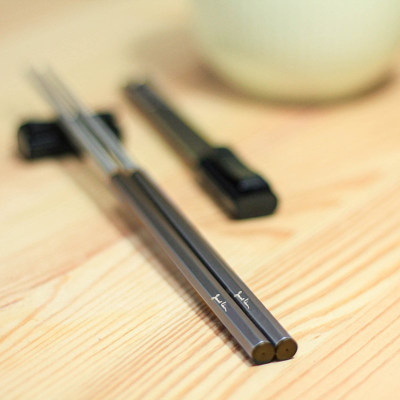 The original chopsticks III [customer creation] accompanying chopsticks (not only custom-made, but also engraved paintings and signatures)