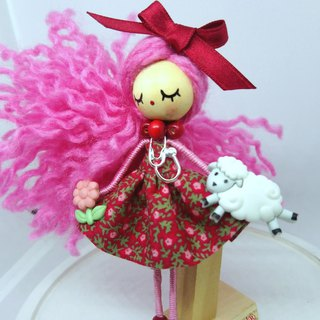 Brooch doll Veterinary