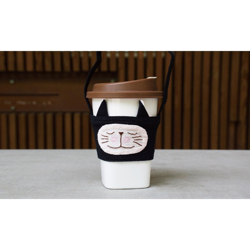 客製化飲料袋 黑貓款