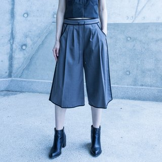 Sports style wide pants