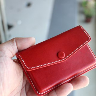 Handmade Leather Card Holder 02 Leather Business Card Holder (16CH02)