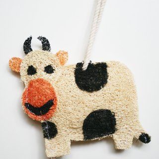 Scrubbing Brush - Joy Bathing Dishes and Cloths - Dairy Cows
