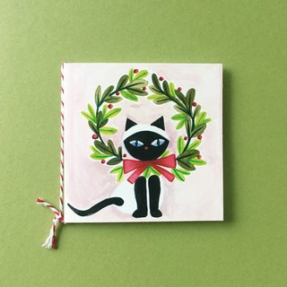 Christmas Cat Gift Card