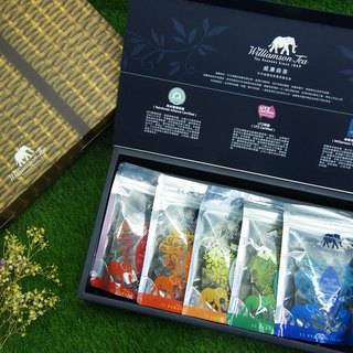 [Year of the Year] the taste of adults - Williamson tea three-dimensional tea bag gift box