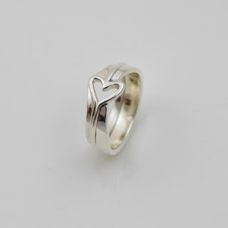 Beloved (sterling silver couple ring lettering ring Valentine's Day gift) ::C% handmade jewelry::