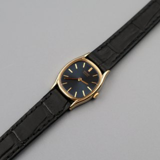 SEIKO Seiko Watch 1970's Advanced Metal Blue Black Panel