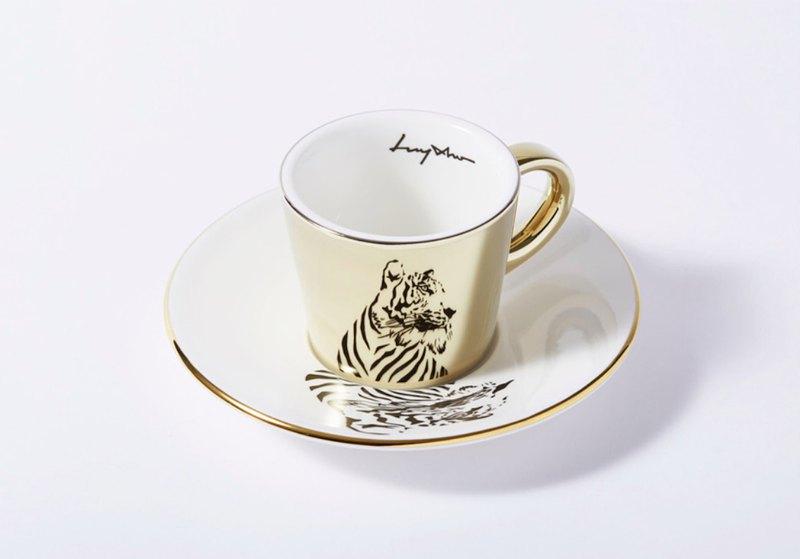 Luycho 鏡面倒影杯組 濃縮咖啡杯 _ 老虎
