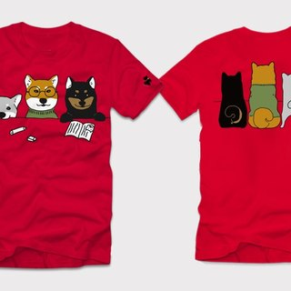 """Chai Dog University"" 2016 back school day limit T-shirt [red] Watson design Chai dog 3 brothers"