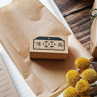 Mini MailBox Stamp Tin Mail Box Stamp