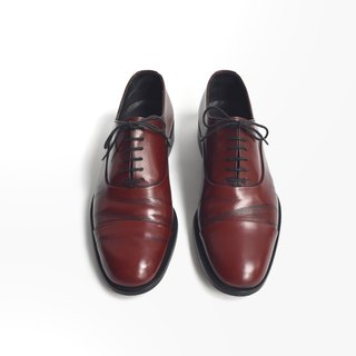 90s 我不與你紳士皮鞋 | Bally Cap Toe Oxford US 7.5D EUR 3940