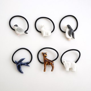 Animal hair tie