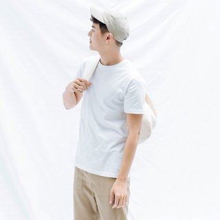 hao White Cotton T-Shirt 白色純棉Tee