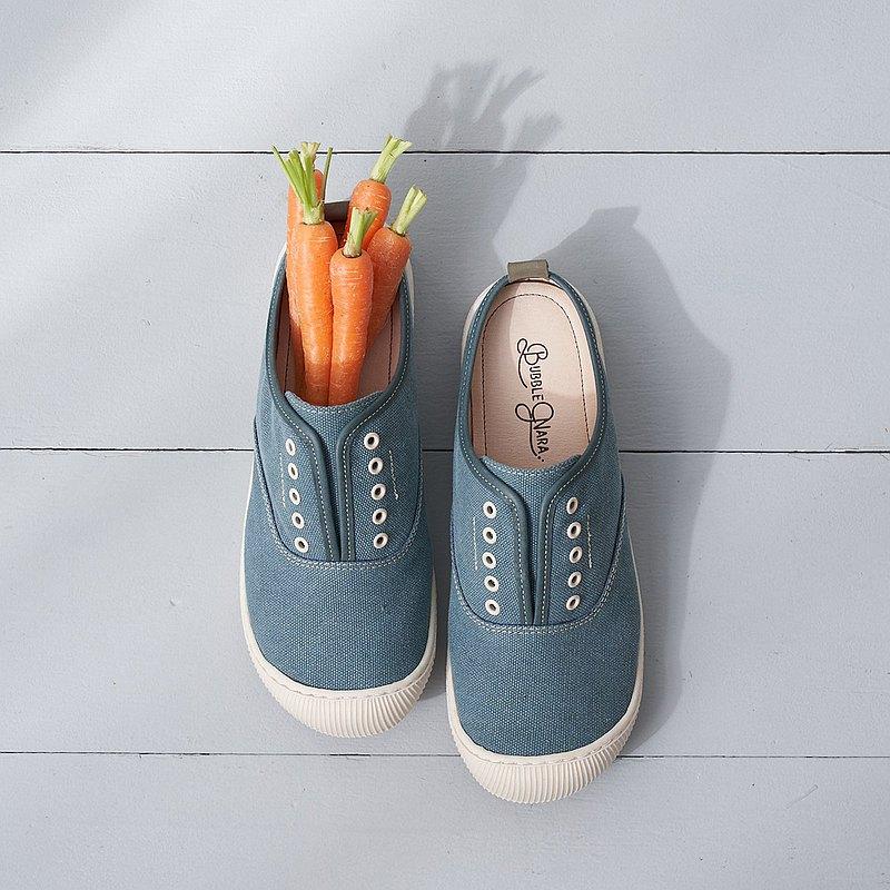 愛做白日夢懶人鞋-青海藍