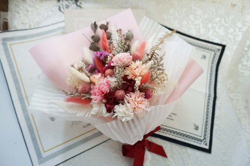 Not withered. Eternal flowers - Korean withered bouquet -*exchange gift*Valentine's Day*wedding*birthday gift * graduation